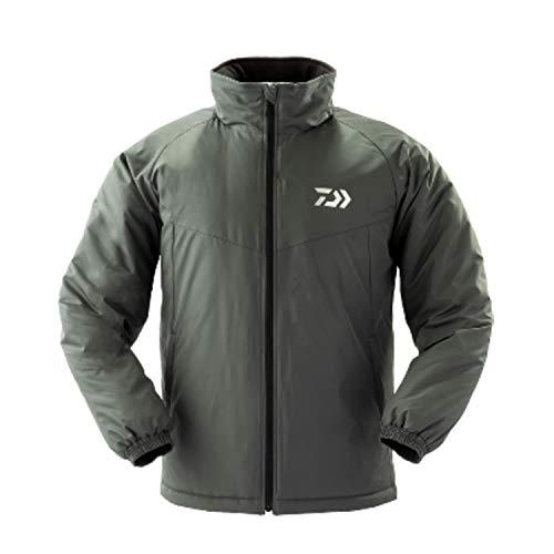 Daiwa DJ-34009 Winter Jacket with Batting L Gunmetal 4550133006845