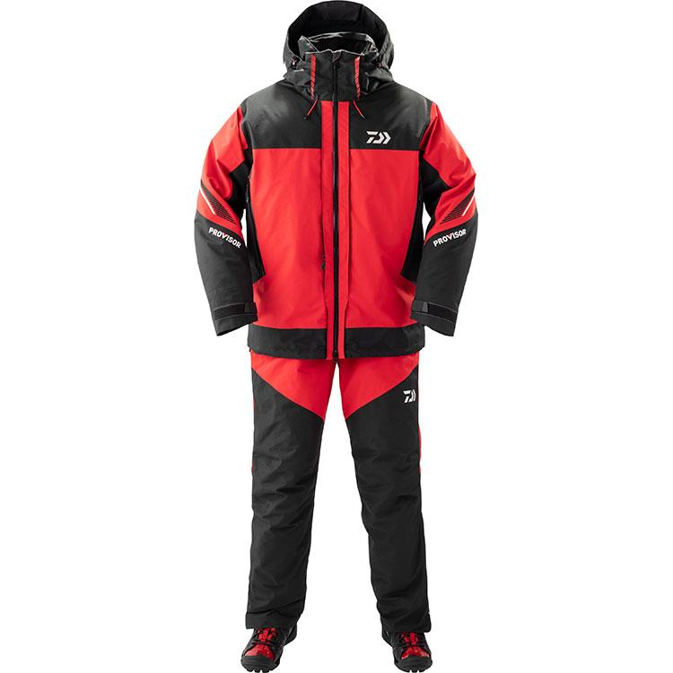 Daiwa DW-1809 PROVISOR Gore Tex Product Combi Up Winter Suit 3XL Red 4550133011436