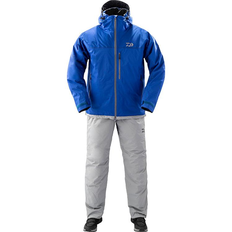 Daiwa DW-3209 Rain Max Extra High Loft  Winter Suit L Blue 4550133012068