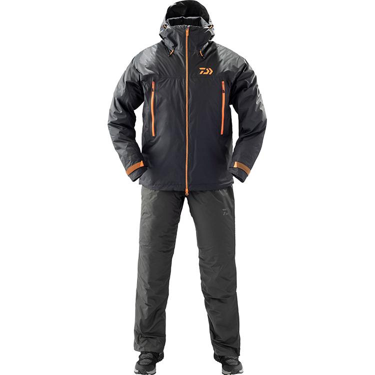 Daiwa DW-33009 Rain Max Winter Suit L Black 4550133012143