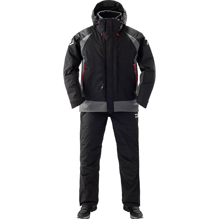 Daiwa DW-3409 Rain Max Hyper Combi Up Winter Suit 2XL Black 4550133012327
