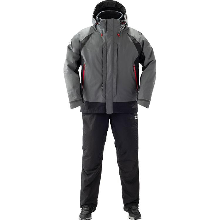 Daiwa DW-3409 Rain Max Hyper Combi Up Winter Suit L Gunmetal 4550133012488