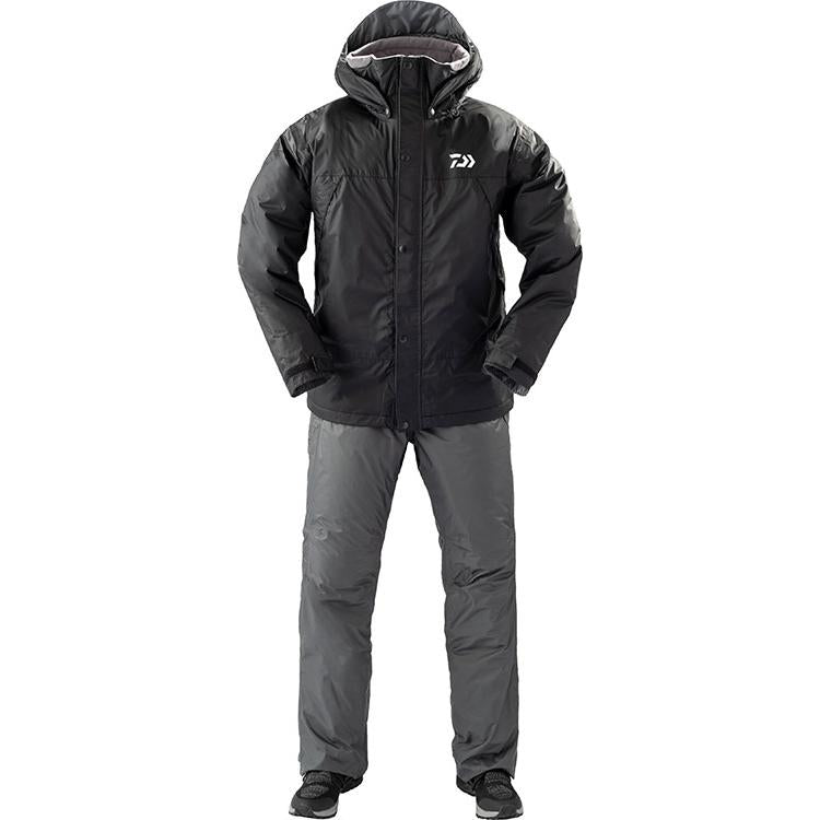 Daiwa DW-35009 Rain Max Winter Suit M Black 4550133012549