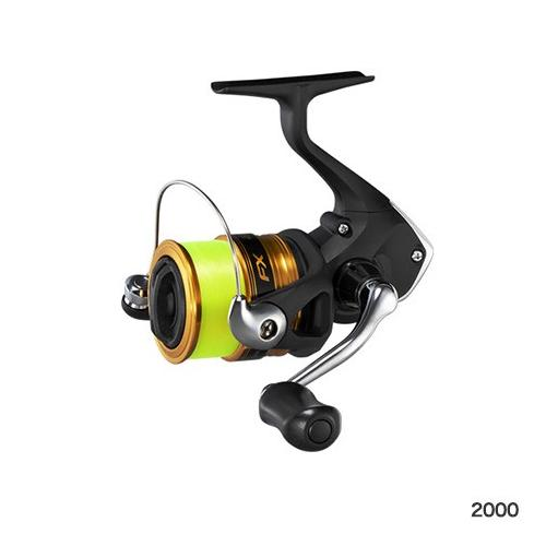 Shimano FX 2000(Nylon No. 2-with 150m thread) Spinning Reel 4969363041197