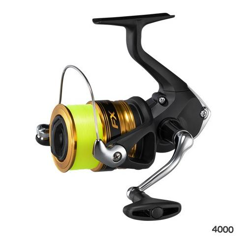 Shimano FX 4000(Nylon No. 4-with 150m thread) Spinning Reel 4969363041265