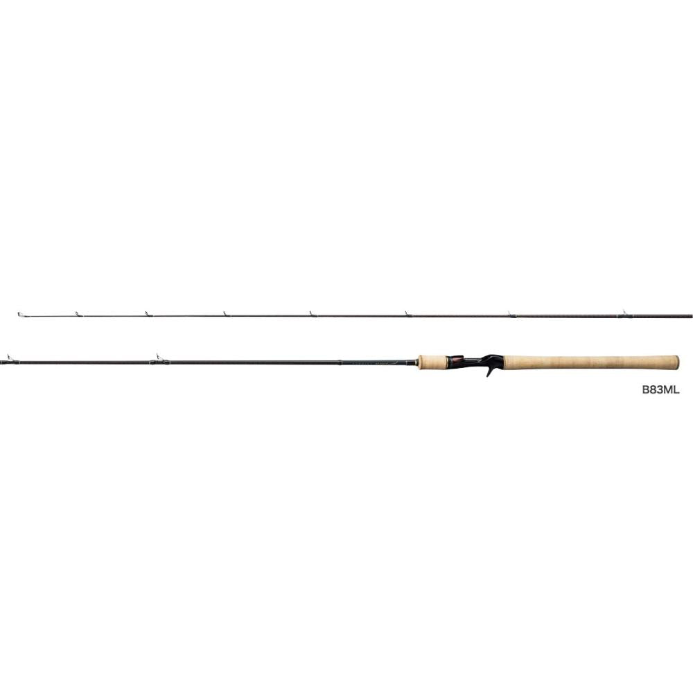 Shimano CARDIFF NATIVE SPECIAL B83ML Baitcasting Rod for Trout 4969363395573