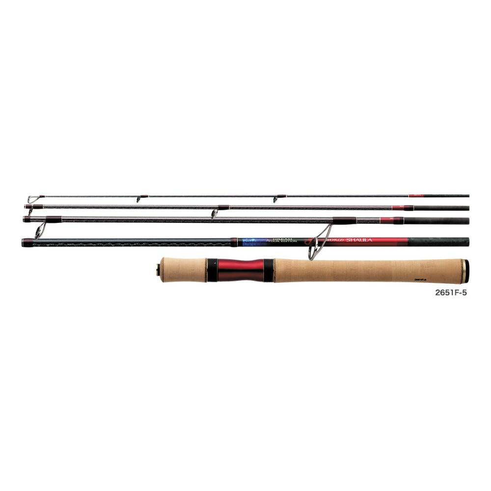 Shimano WORLD SHAULA DREAM TOUR EDITION 2651F-5 Spinning Rod for Bass 4969363397348