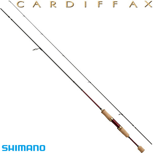 Shimano CARDIFF AX S66SUL-F Spinning Rod for Trout 4969363360076
