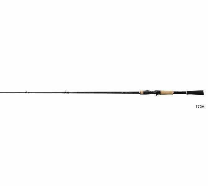 Shimano EXPRIDE 172H-2 Baitcasting Rod for Bass 4969363372758