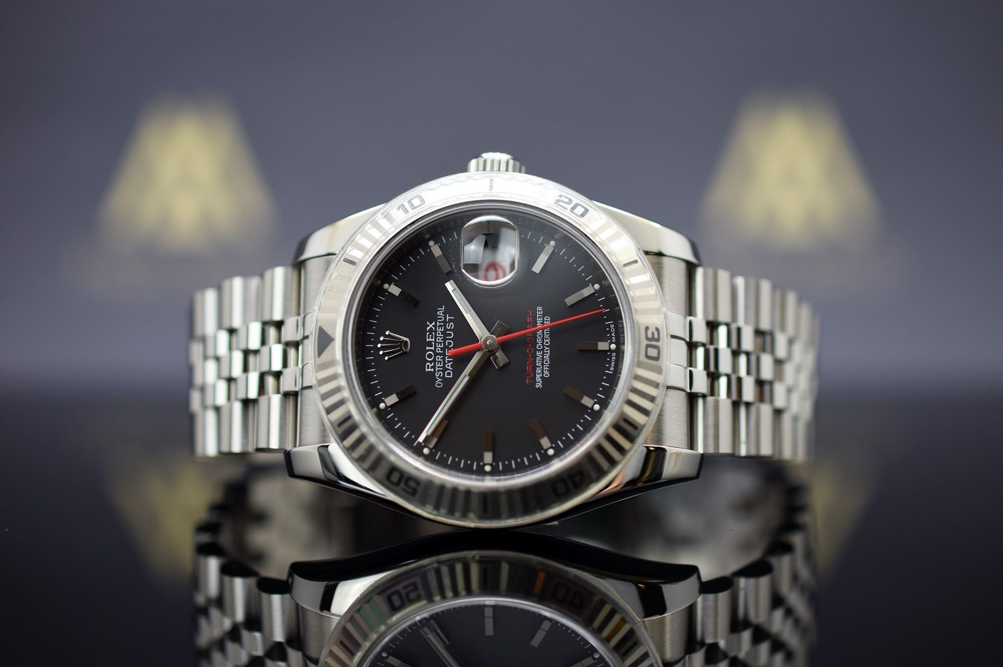 Rolex Oyster Perpetual Datejust Turn-O-Graph - Aus 2007