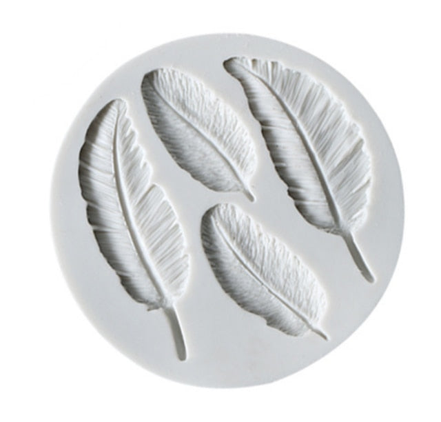Feather Sugar Mold