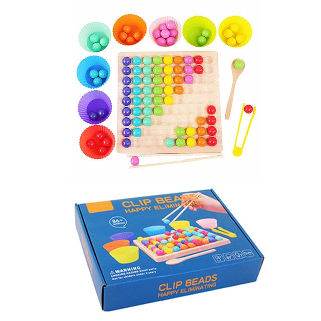 Rainbow Wooden Board Game