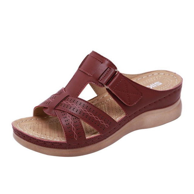 Premium Orthopedic Low Heels Walking Sandals