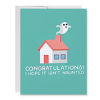 Haunted Home. Housewarming Greeting Card