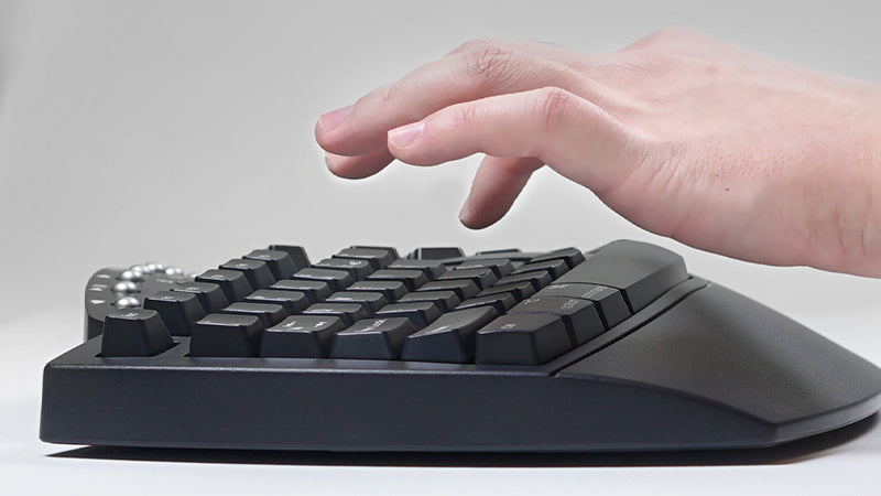 Comfortable Typing Experience
