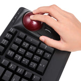 PERIBOARD-522 - Mechanical Trackball Keyboard