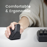 PERIMICE-715 II - Wireless Ergonomic Mouse