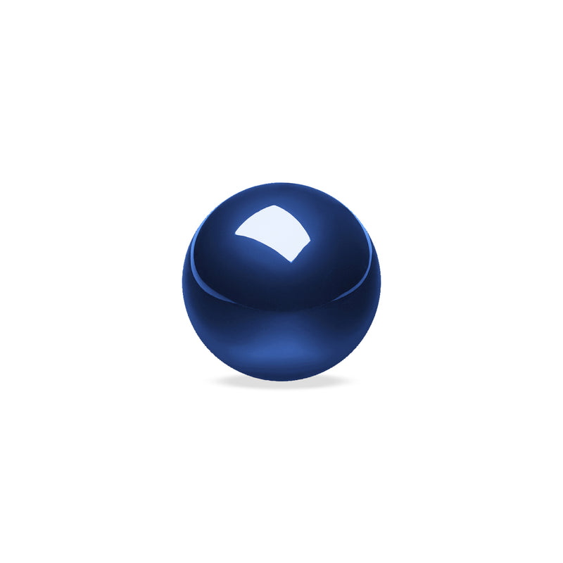 PERIPRO-303 GB - Glossy Blue 34mm Trackball