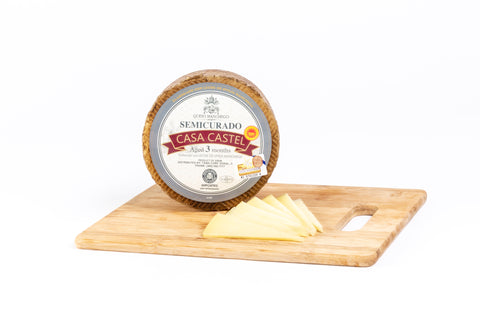 D.O. Manchego Cheese by Casa Castel-3 months 1Kg