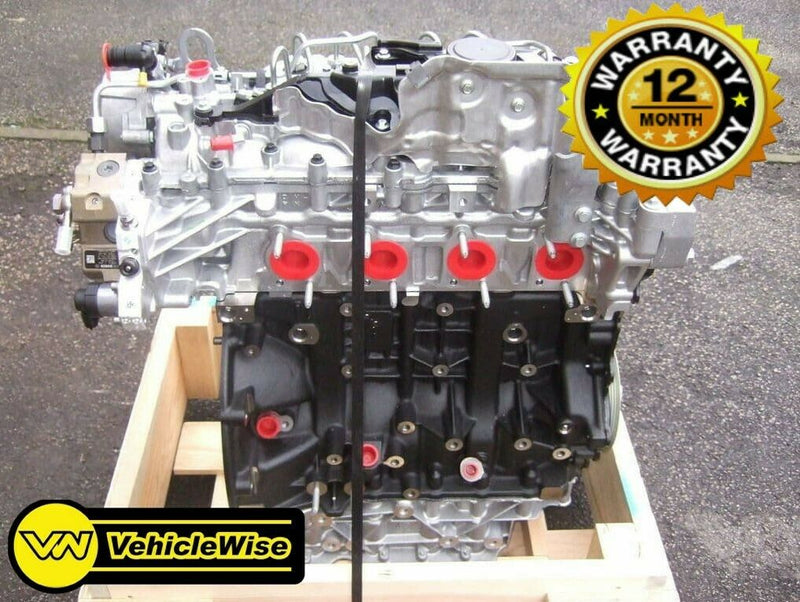 Reconditioned Vauxhall Movano 2.3 CDTI Engine - M9T696 RWD & 12 Months Unlimited Mileage Warranty - vehiclewise