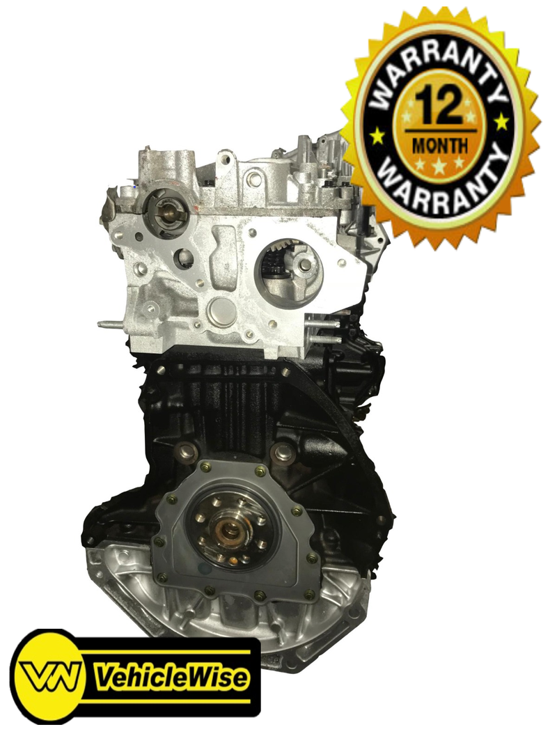 Reconditioned Renault Master 2.5dci Engine - G9U720 & 12 months unlimited mileage warranty - vehiclewise
