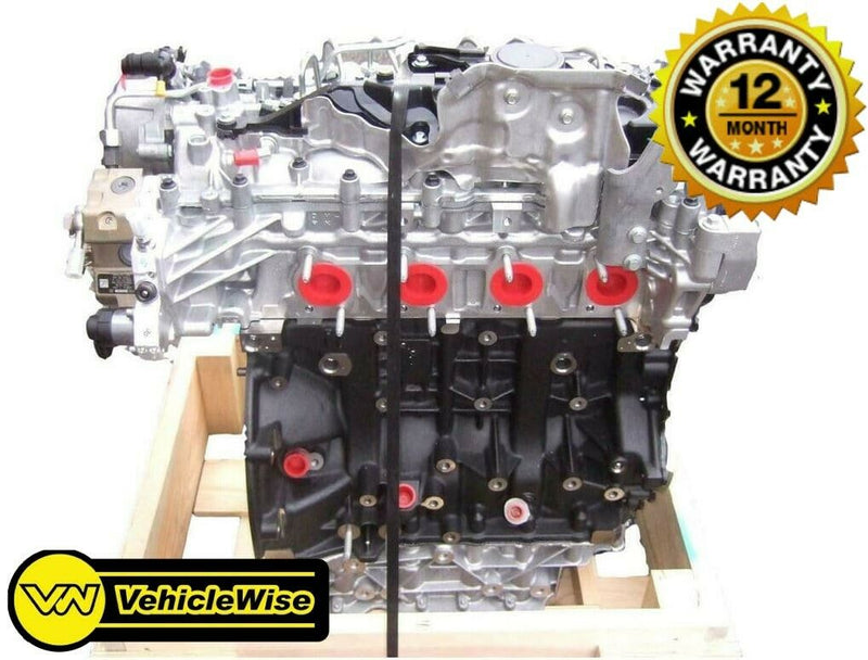 Reconditioned Vauxhall Movano 2.3 CDTI Engine - M9T670 FWD & 12 Months Unlimited Mileage Warranty - vehiclewise