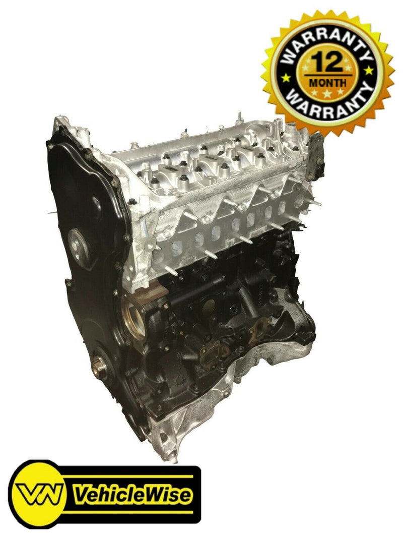 Reconditioned Vauxhall Movano 2.5 CDTI Engine - G9U630 & 12 Months Unlimited Mileage Warranty - vehiclewise