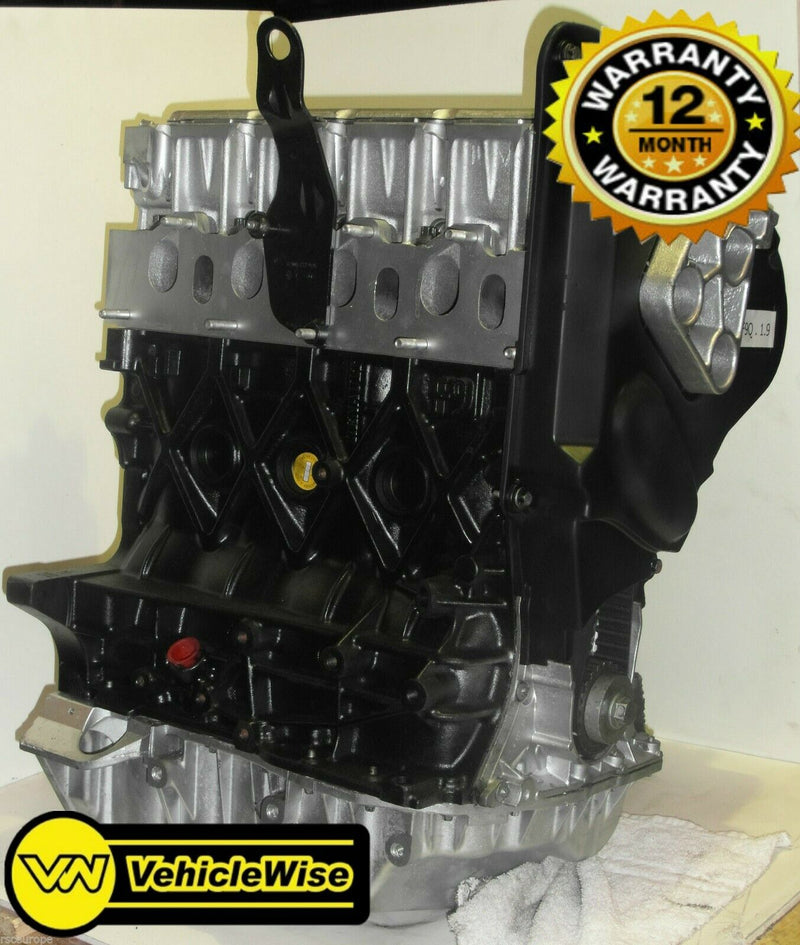 Reconditioned Renault Trafic 1.9 dci Engine - F9Q762 & 12 Months Unlimited Mileage Warranty - vehiclewise