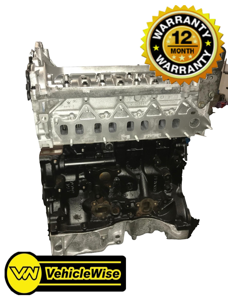Reconditioned Vauxhall Movano 2.5 CDTI Engine - G9U632 & 12 Months Unlimited Mileage Warranty - vehiclewise