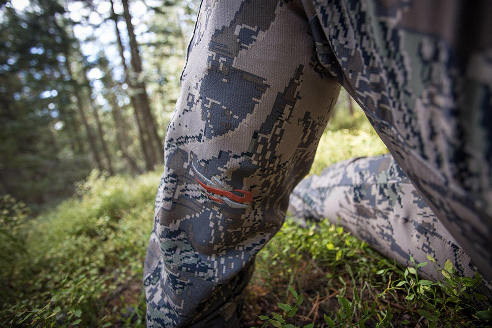 Sitka Gear - Man standing with only legs showing and wearing the Mountain Pant