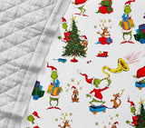 Dr. Seuss's The Grinch™ Organic Flannel Fitted Crib Sheet