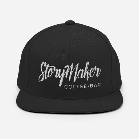 StoryMaker Logo Flat Bill, Snap Back