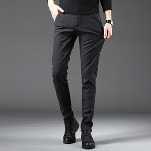 2020 Spring Autumn New Arrival Men's Casual Long Pants Male Trouser Fashion Mens Pants Straight Business Trousers Men Plus Size