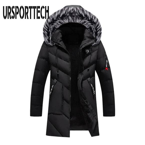 Top Quality Winter Parka Men Thick Warm Winter Jacket Men Windproof Casual Outerwear Medium Long Coat Men Parka Plus Size 5XL
