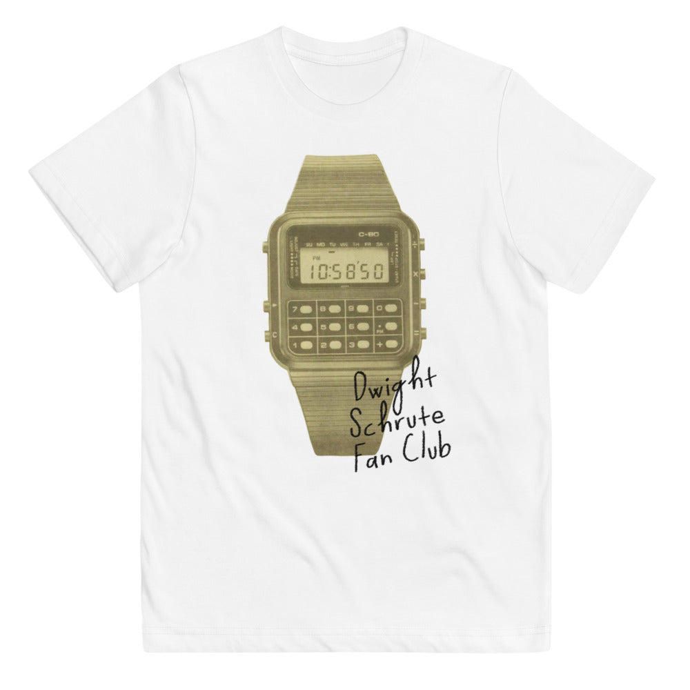 Dwight Schrute fan club kids tee
