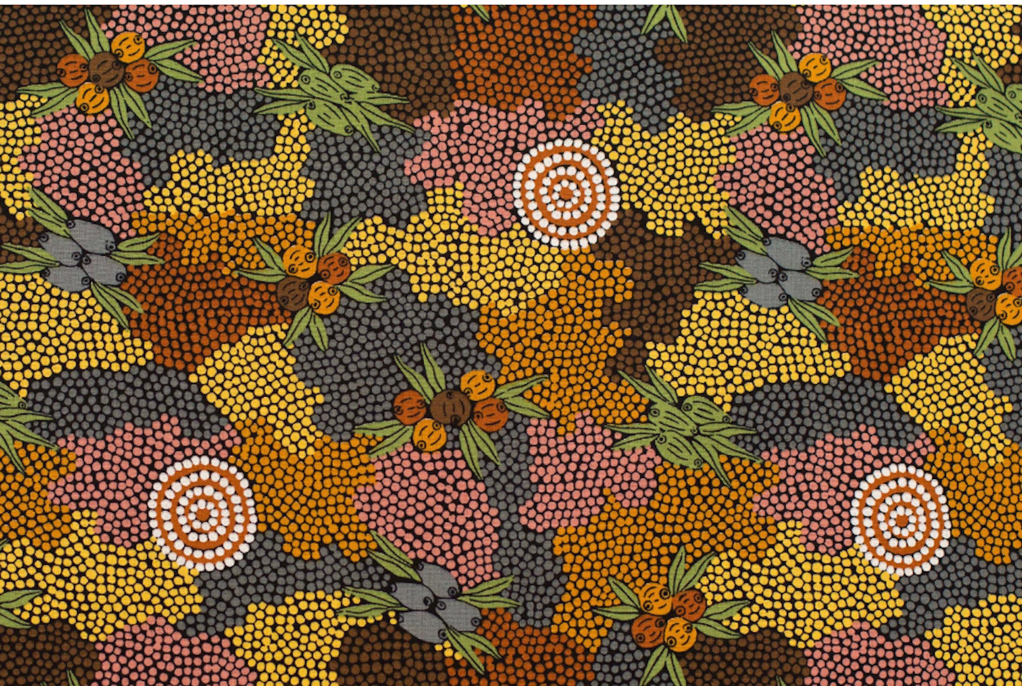 Table Runners - Show stopping authentic Aboriginal  designs    (( Hurry last one))