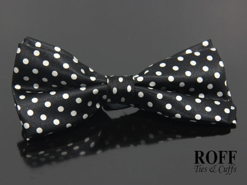 Regular Polka Dot Bow Tie (RB124-Y3)
