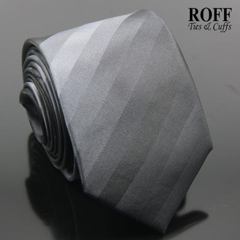 Black and Grey Tones Stripe Tie
