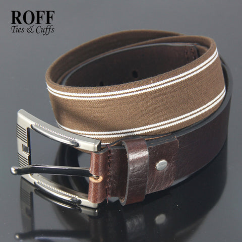 Casual Webbing Leather Belt