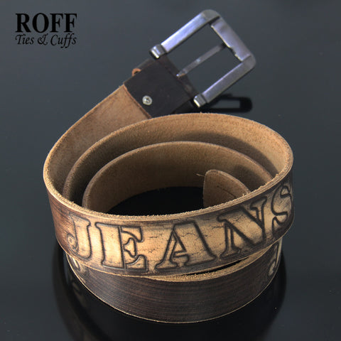 Casual Jeans Leather Belt