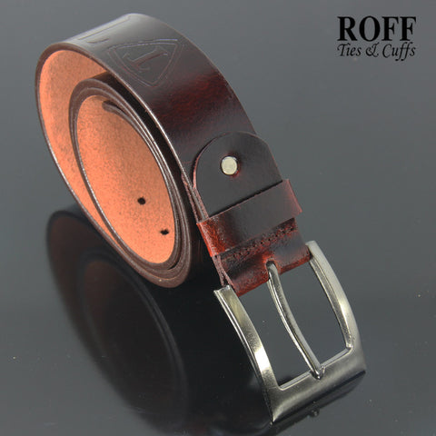 Casual Glossy Leather Belt