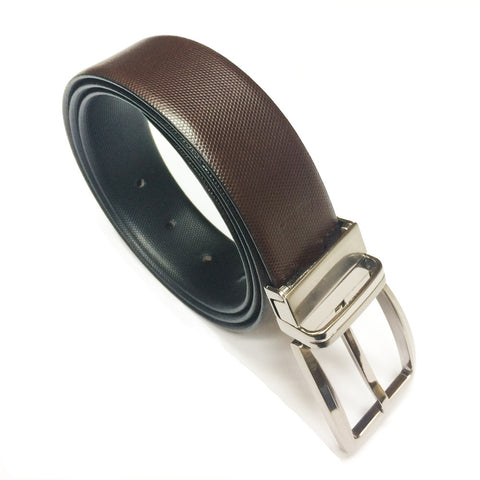 Reversible Leather Belt Silon