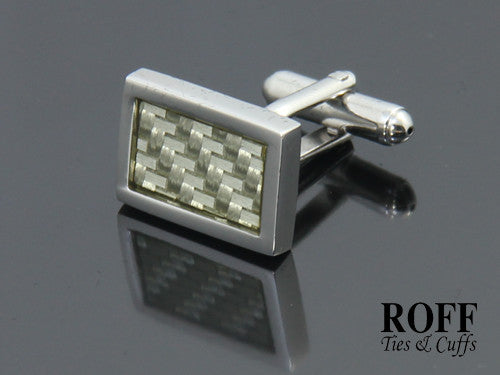 Rectangle Textured Panel Cufflinks
