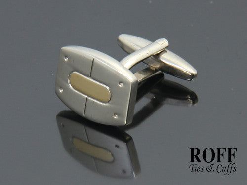 Classic Gold Centred Cufflinks