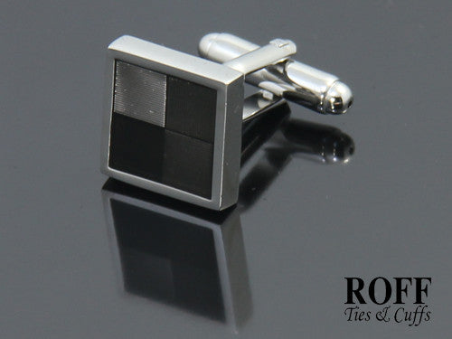 Square Grey Tones Cufflinks