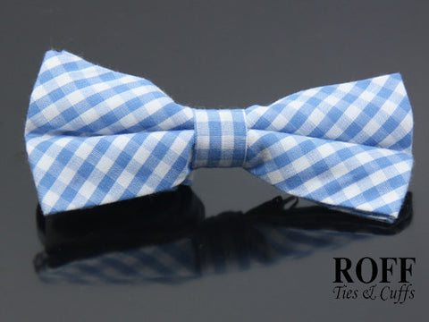 Regular Micro Checker Bow Tie