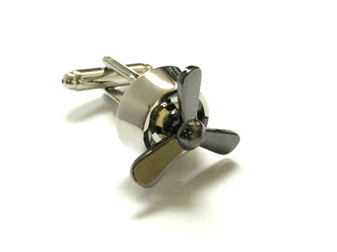 Aircraft Propeller Cufflinks