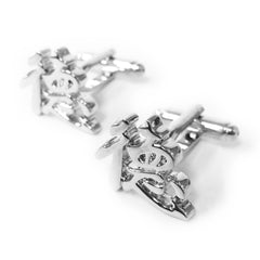 Chinese Character Cufflinks (Virtue)