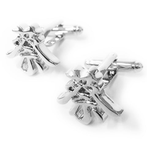 Chinese Surname Cufflinks (Cai)
