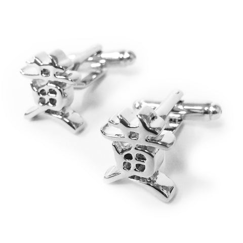 Chinese Surname Cufflinks (Huang)